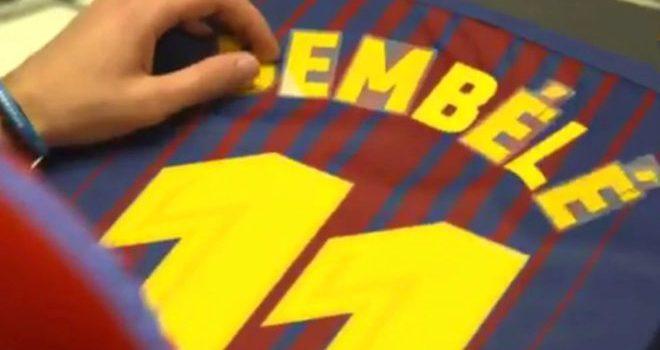Barcelona se olvida de Neymar y le da su dorsal a Dembelé
