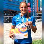 Ana Joselina Fortín gana bronce en Mundial de Budapest