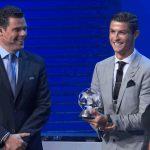 Cristiano Ronaldo es el jugador del año de la UEFA
