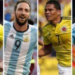 Los jugadores que no estarán en las eliminatorias de Sudamérica