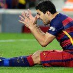 Luis Suárez se lesiona y estará un mes de baja