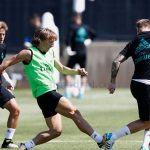 Luka Modric volverá al once del Real Madrid