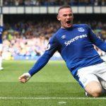 Wayne Rooney marca golazo tras su regreso al Everton