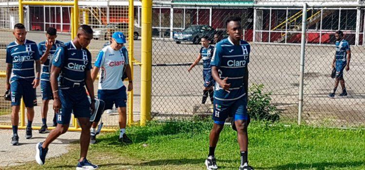 Honduras ya entrenó en Trinidad y Tobago