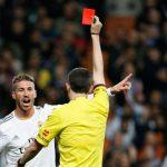 Sergio Ramos, el más expulsado de la Liga española