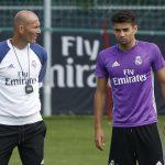 Zinedine «enfrenta» a Enzo, en el duelo de los Zidane