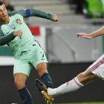Cristiano perdió la cabeza y lanzó golpe al rival