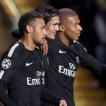 Este es el primer gol de Neymar con el PSG en Champions
