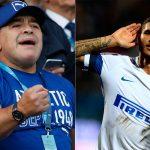 Maradona: «Hay jugadores que son cinco veces mejor que Icardi»
