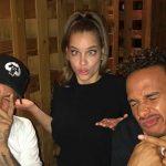 Neymar se fue de fiesta tras su pelea con Cavani
