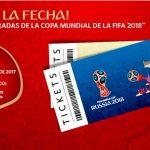 El 14 de septiembre empieza venta de entradas para el Mundial de Rusia