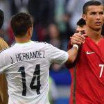 Cristiano contacta a «Chicharito» para donar un millón de euros a México