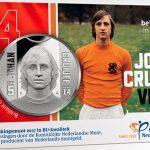 Moneda de 5 euros en homenaje a Johan Cruyff