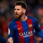 ¿Quién le dio a Messi el balón por su triplete?