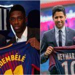 PSG y Barcelona, los equipos que más han pagado por sus fichajes