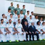 La foto oficial del Real Madrid para la temporada 2017-18