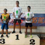 Luis Medina y Anallise Oviedo, campeones en tenis de mesa de Juegos de la Juventud
