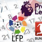Agenda futbolística del fin de semana