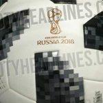 Se filtra el posible balón que se utilizará en el Mundial de Rusia