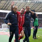 Ribéry se lesiona y estará dos meses de baja
