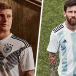 Las siete nuevas camisetas Adidas para el Mundial