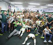 Chapecoense festejó la permanencia en primera división