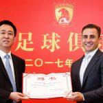 Fabio Cannavaro, nuevo entrenador del Guangzhou Evergrande chino