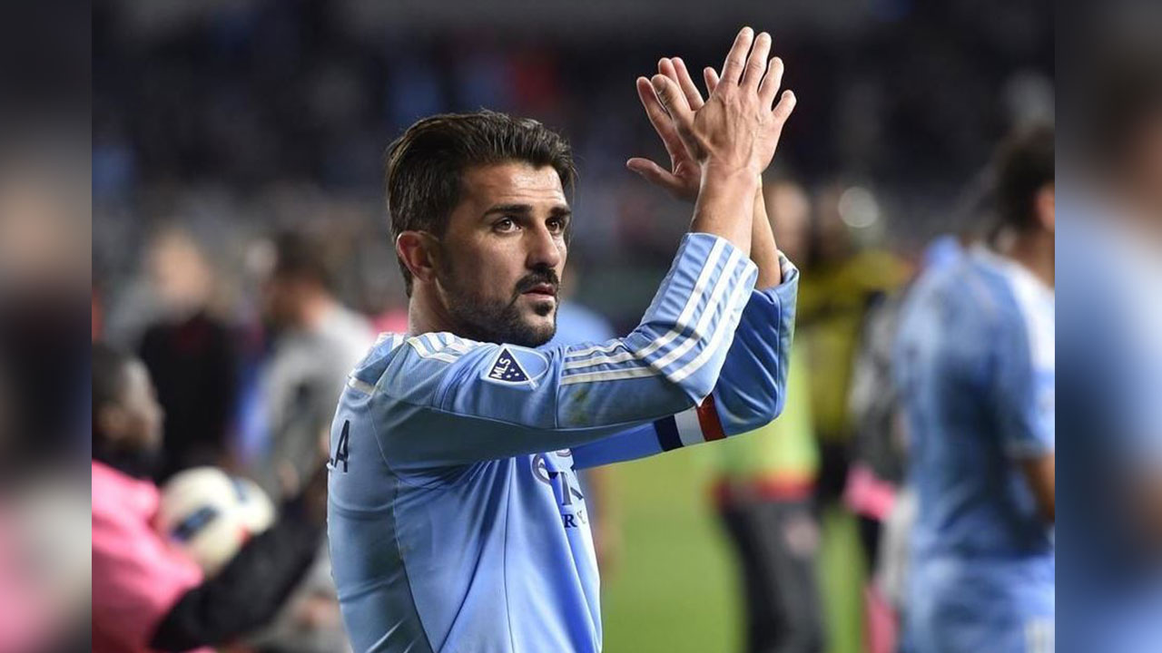David Villa el quinto jugador que más camisetas venden en la MLS