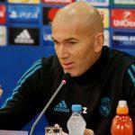 A Zidane no le preocupa el hundimiento del Madrid