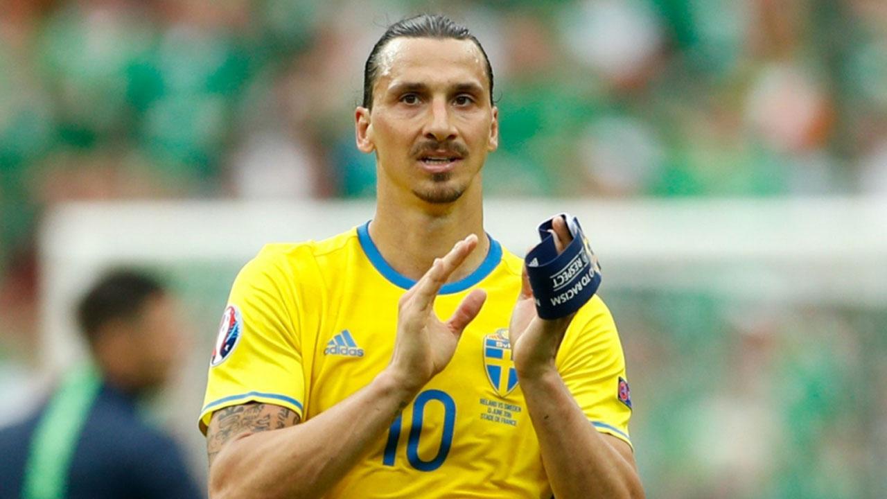 Seleccionador sueco descarta regreso de Zlatan Ibrahimovic