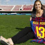 """Alex Morgan: """"Messi es el mejor del mundo"""""""