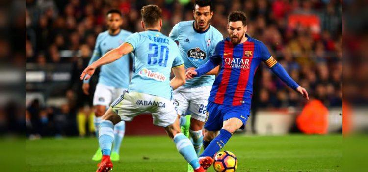 Celta le empató al Barcelona en el Camp Nou