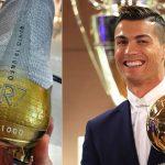 Las lujosas botas de Cristiano para celebrar el quinto Balón de Oro