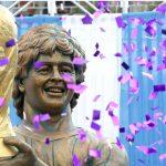 Maradona tiene su estatua en la India