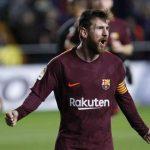 Messi igualó a Gerd Müller como máximo goleador de la historia en las grandes ligas europeas