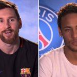 """El emocional """"amigo invisible"""" de Messi y Neymar"""