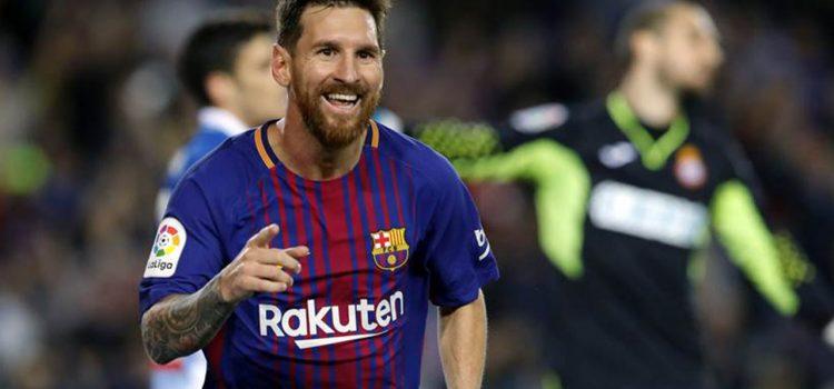 Otro premio para Messi, gana el Olimpia