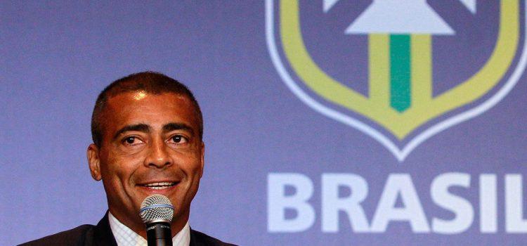 Romario quiere presidir la Confederación Brasileña de Fútbol tras escándalo de corrupción
