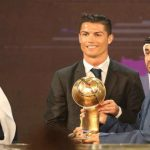 Por quinta vez Cristiano gana el premio Globe Soccer
