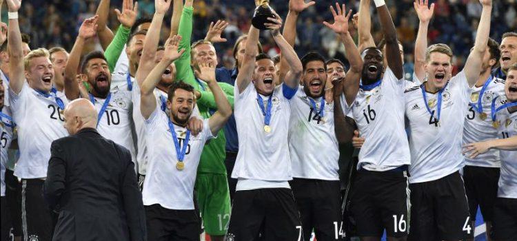 Alemania inicia el año mundialista liderando el Ranking FIFA