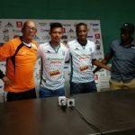 Ian Osorio y Byron Méndez vuelven al Platense