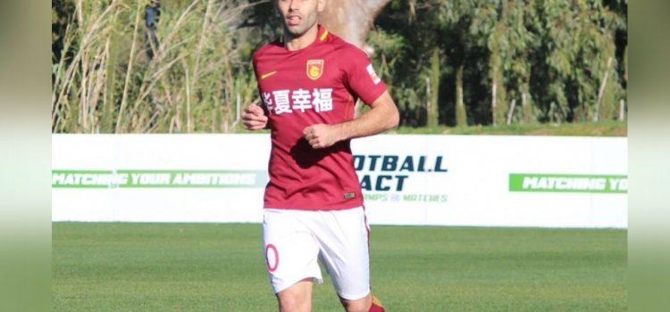 Mascherano disputó su primer partido en China