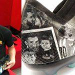 Lionel Messi recibe unas botas inspiradas en su vida