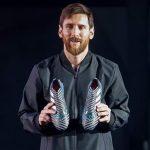 Así son las nuevas botas de Lionel Messi