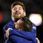 Un Messi magistral lidera la 'manita' del Barca al Celta