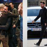 Messi deslumbra con su look en despedida de Mascherano