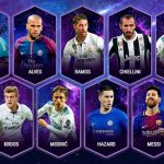 El once ideal 2017 de la UEFA