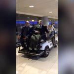 La divertida forma de Florentino Pérez de salir del aeropuerto