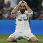 Dani Carvajal no jugará ante el PSG