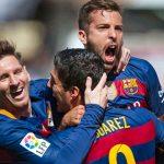 La reacción de Messi, Suárez y Alba que se volvió viral